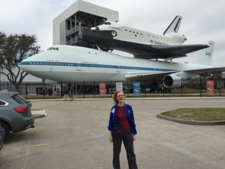 Marianne Dyson at Space Center Houston 2016.
